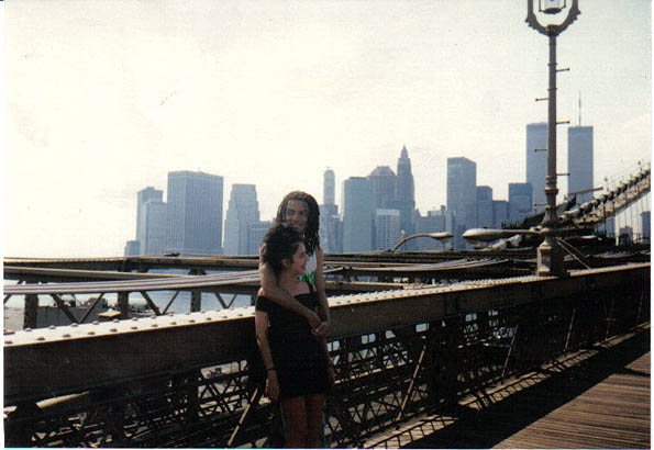 Lonnie y yo 1988 NYC