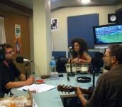 Con Tito y Gillespi, promo show La Trastienda