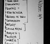 Niceto Doble A lista