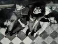 ROUGE, 1980 (Maria Epumer, Claudia Sinesi, Ana Croti y AA, no me acuerdo quienes eran nuestros novios)