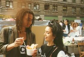 Lonnie Hillyer y AA en NYC, 1987, ponele