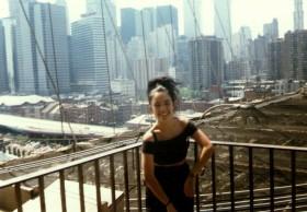 Brooklyn Bridge, 1988,foto sacada por Lonnie