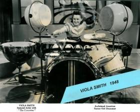 Viola Smith Pionera de la batería